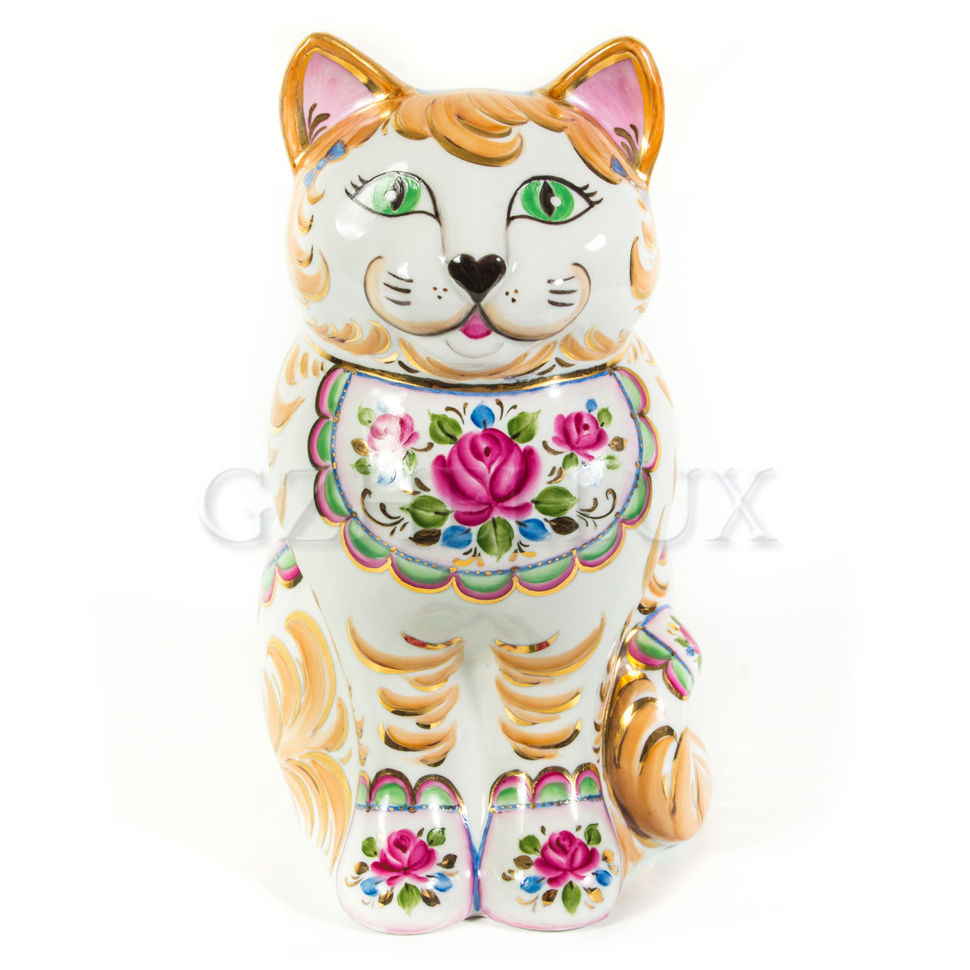 Копилка «Кошка» в красках