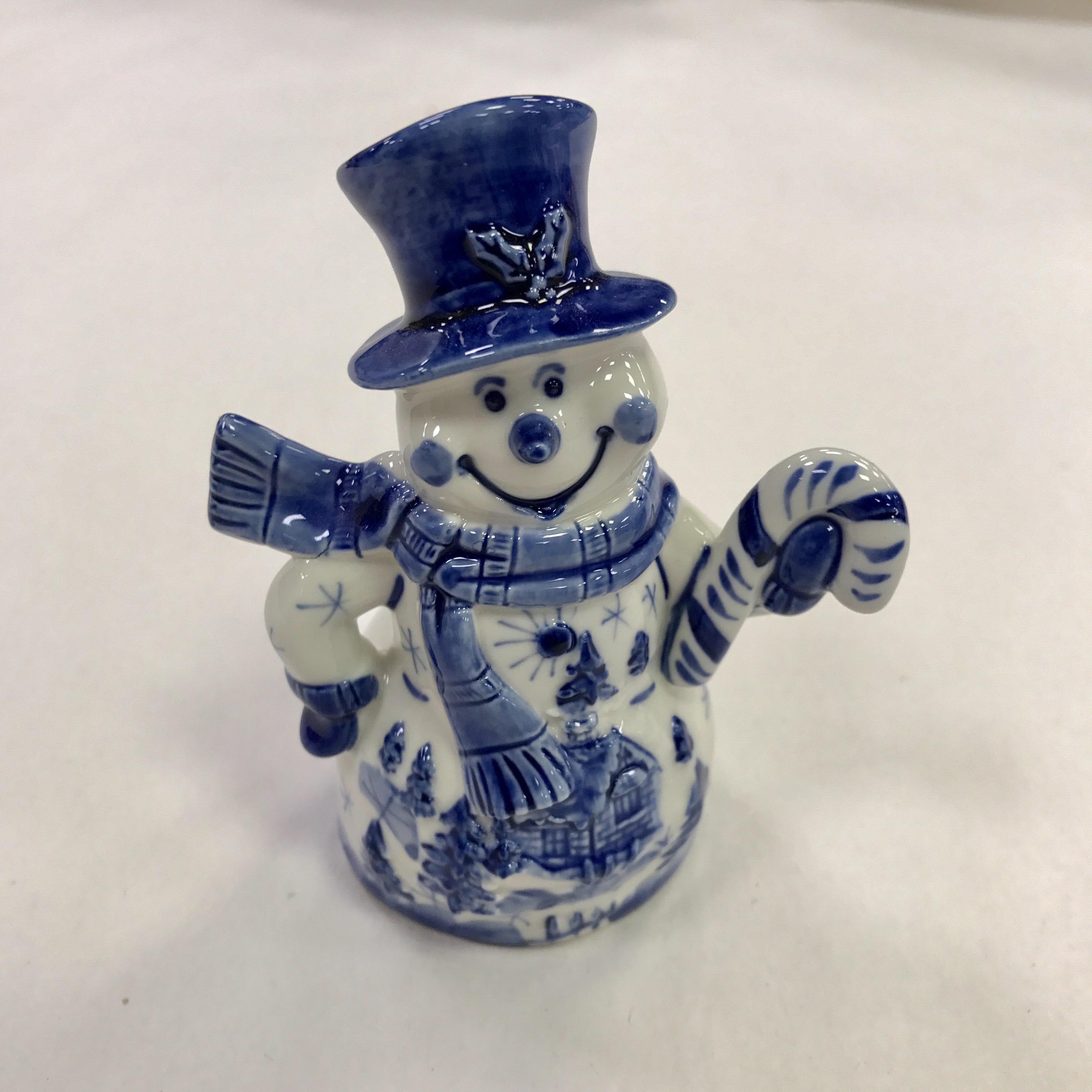 Скульптура «Снеговик Сказочный»