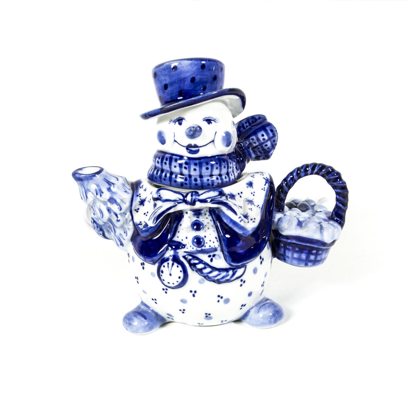 Чайник малый «Снеговик»