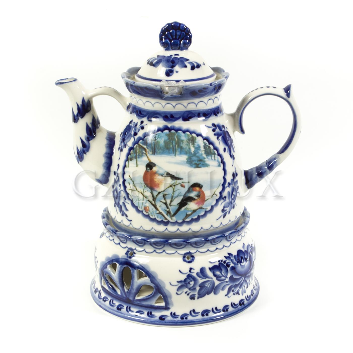 Чайник «Пейзаж» с изображением