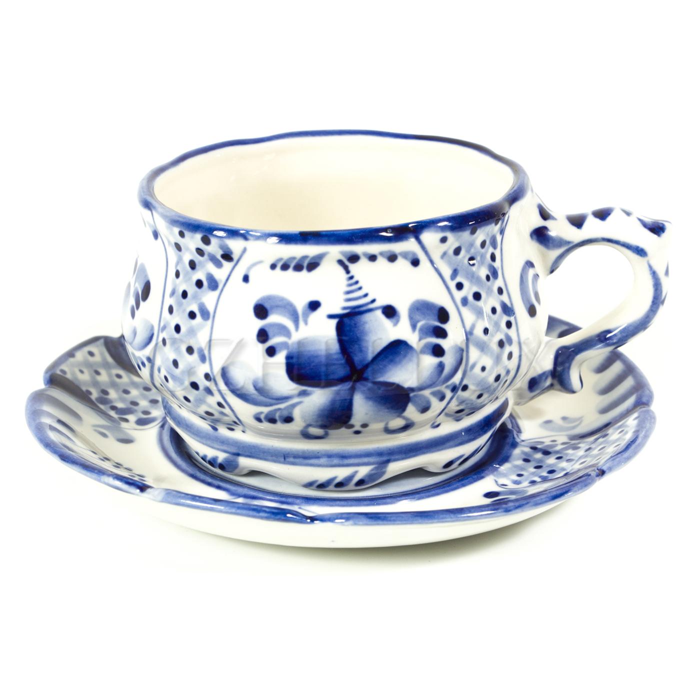 Чайная пара «Ажурная»