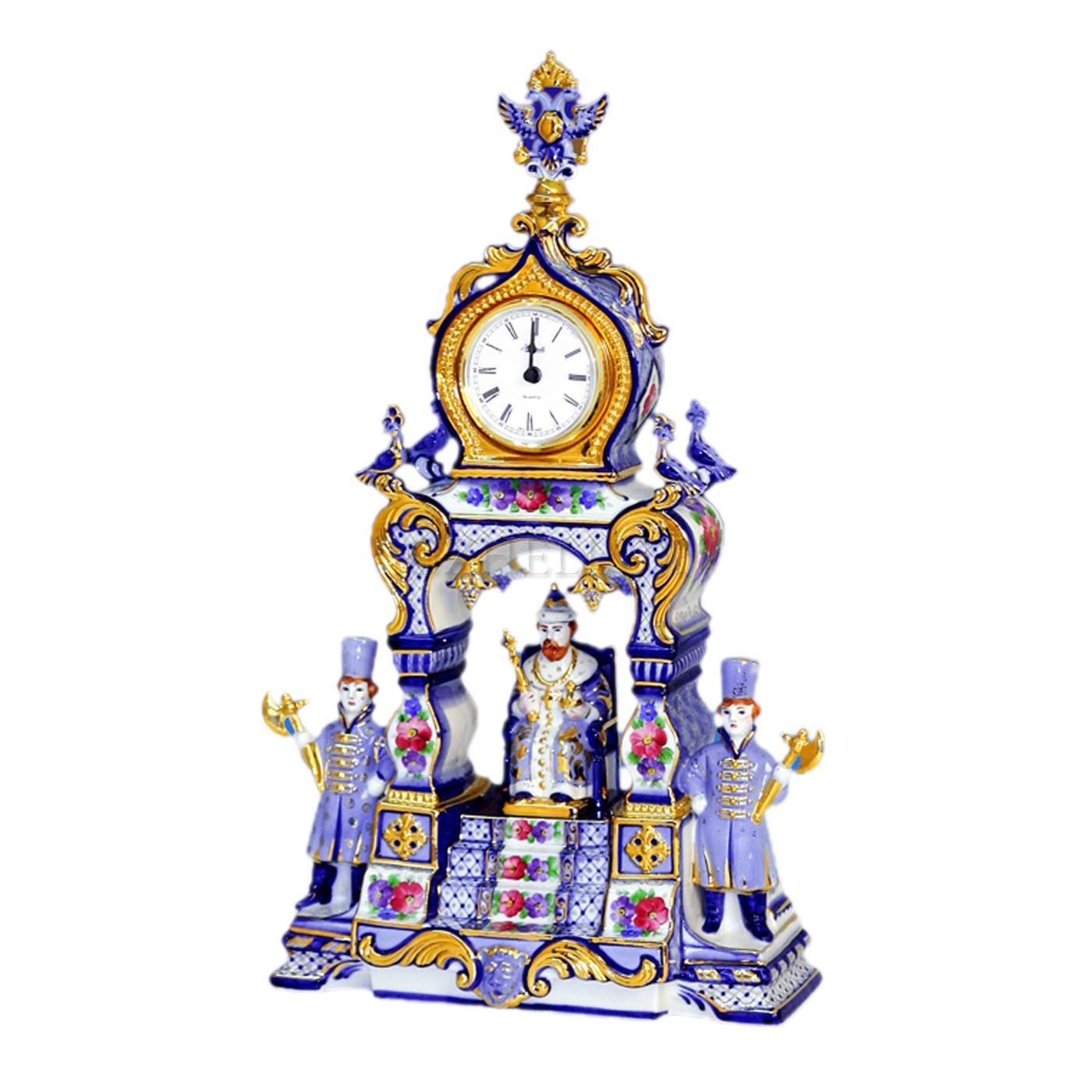 Часы «Царские» в красках