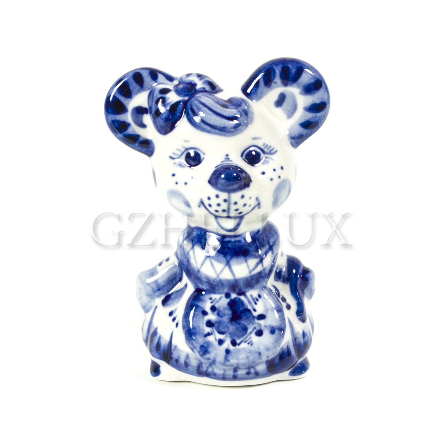 Скульптура «Мышка Норушка»