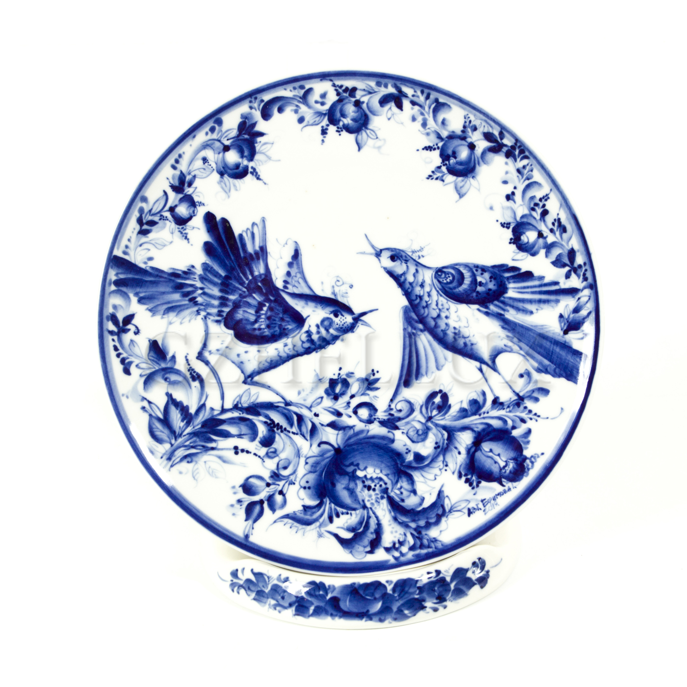 Тарелка декоративная «Птицы»