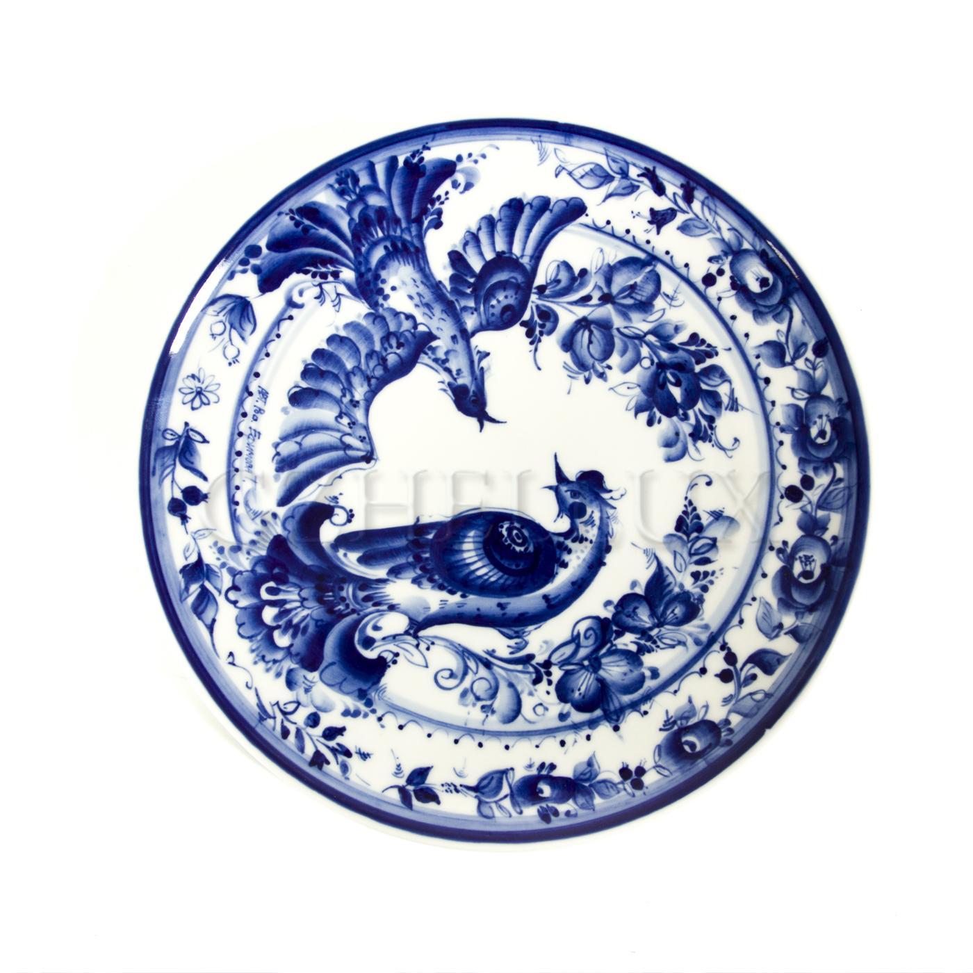 Тарелка декоративная «Птицы» №2