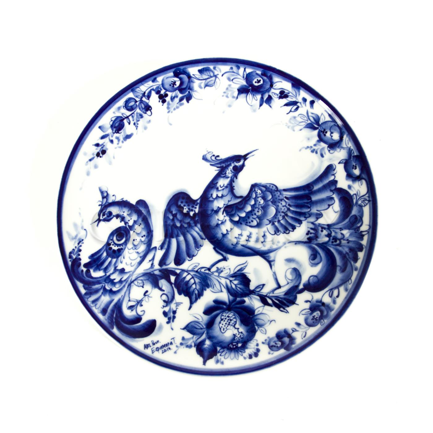 Тарелка декоративная «Птицы» №3