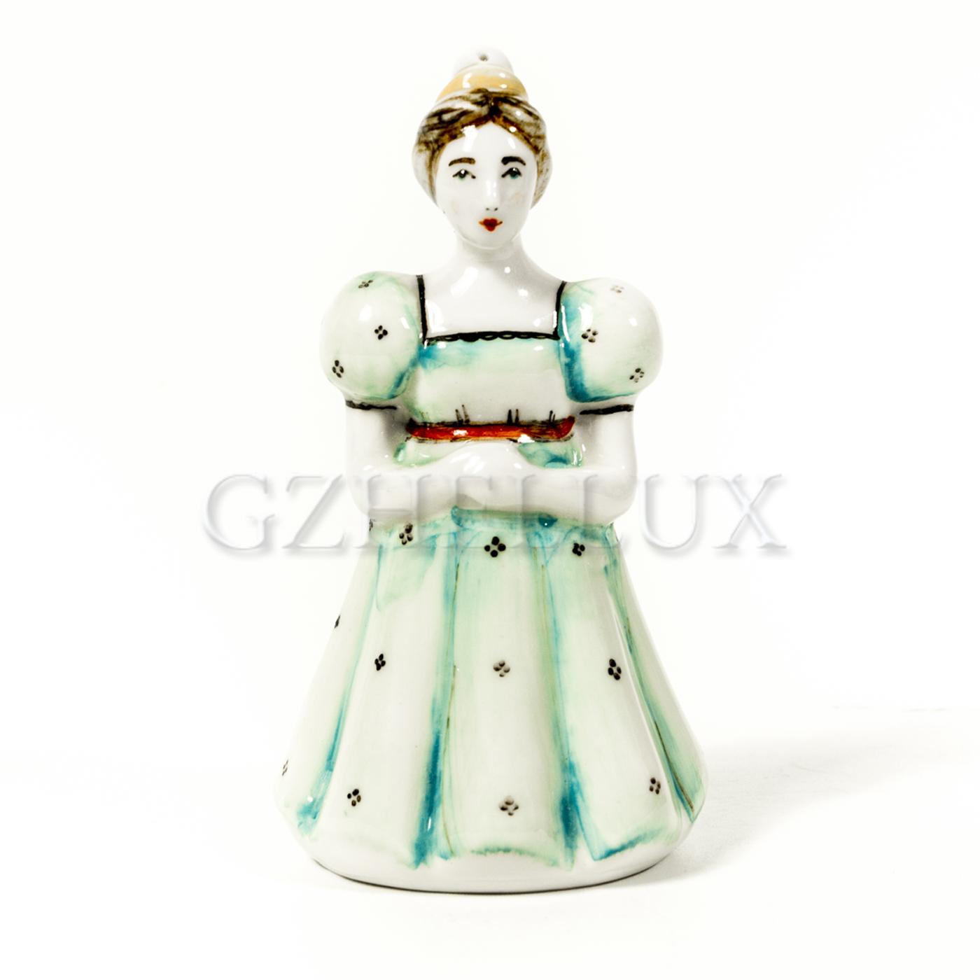 Ёлочная Игрушка «Девочка Мари» в красках
