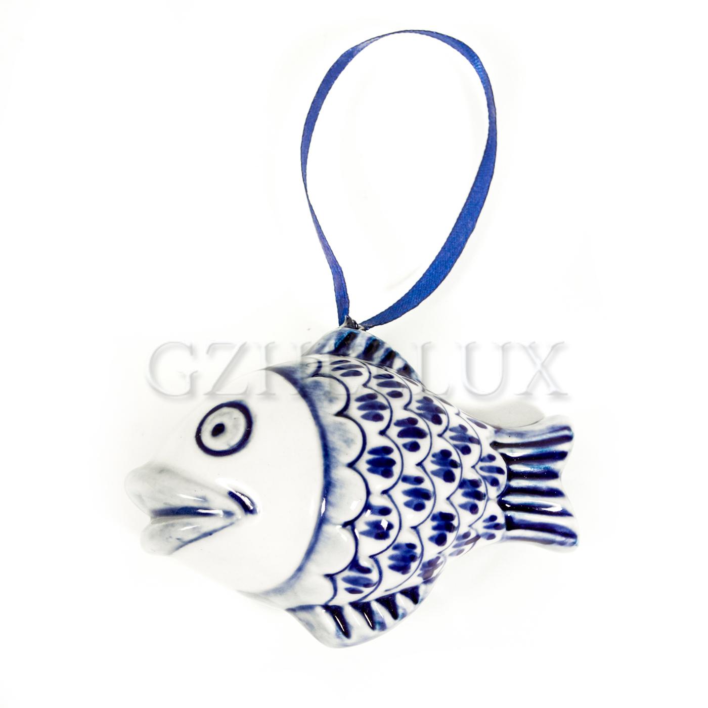 Ёлочная Игрушка «Золотая Рыбка»