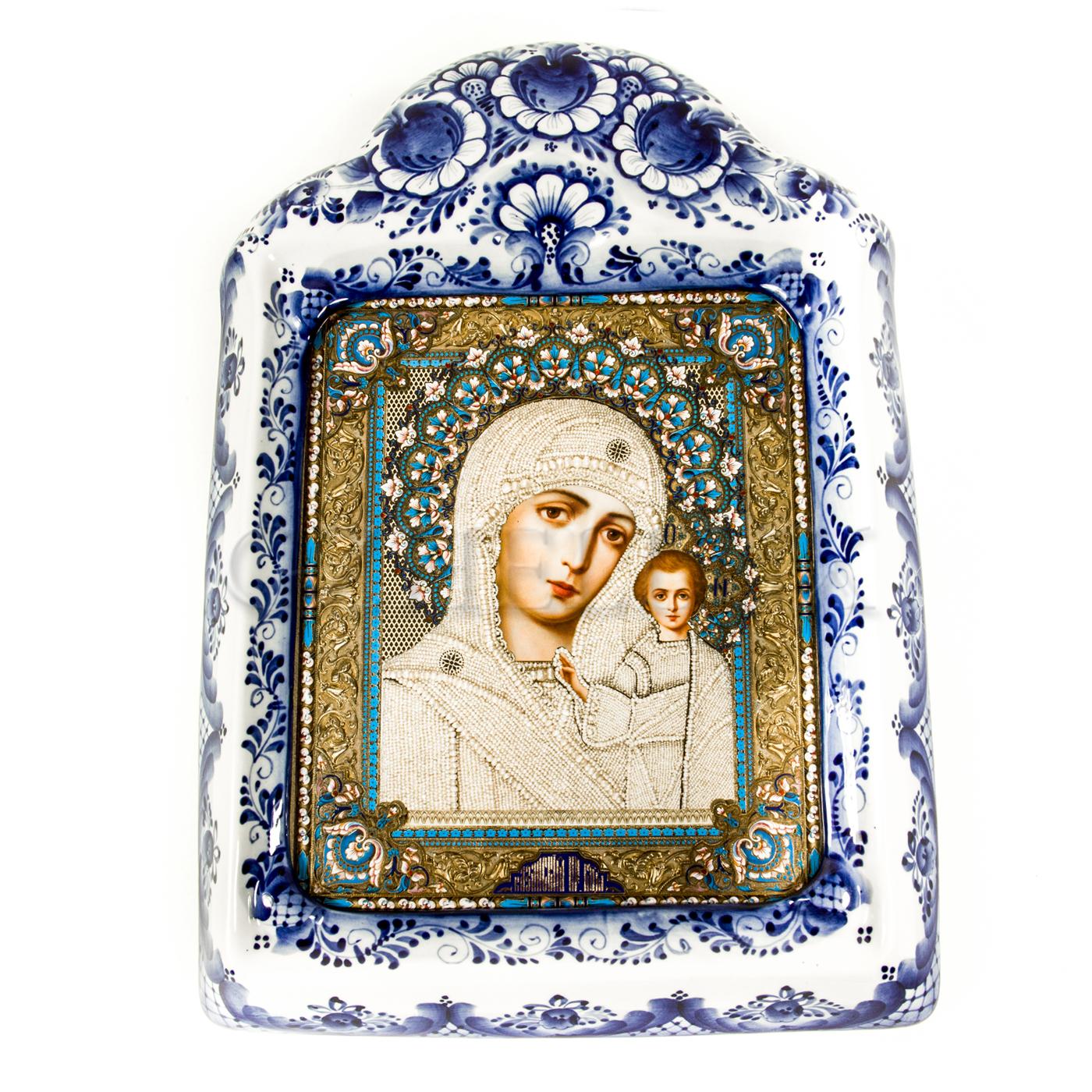 Киот настенный «Казанская Икона Божией Матери»