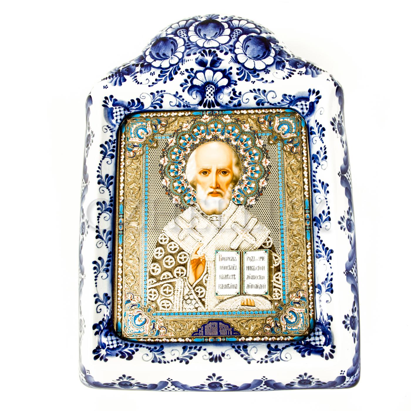 Киот настенный «Икона Николая Чудотворца»