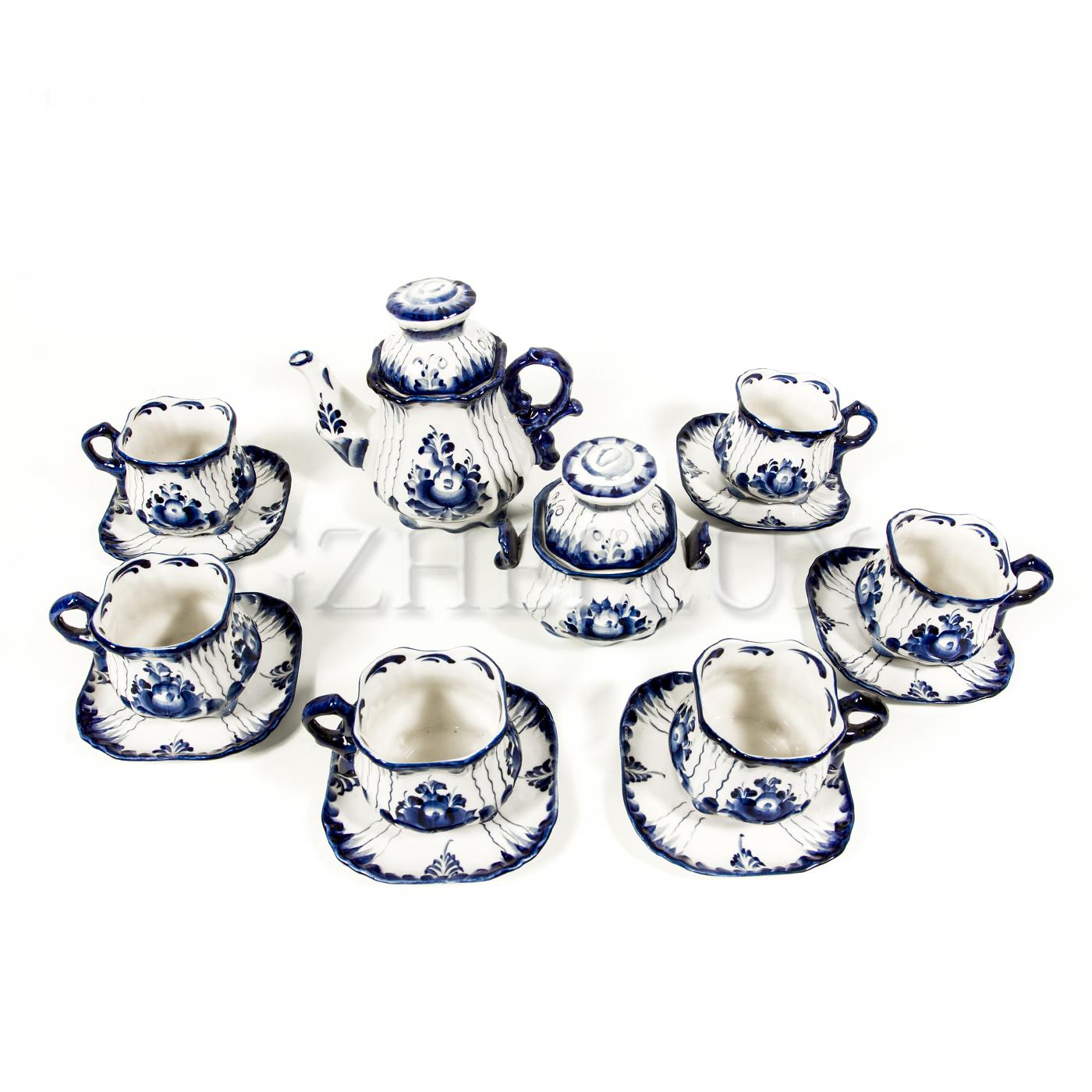 Сервиз чайный «Полянка»