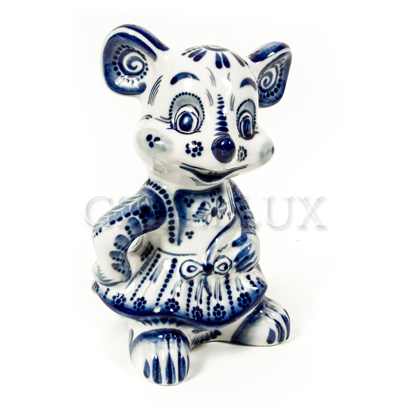 Скульптура «Мышка Лиза»