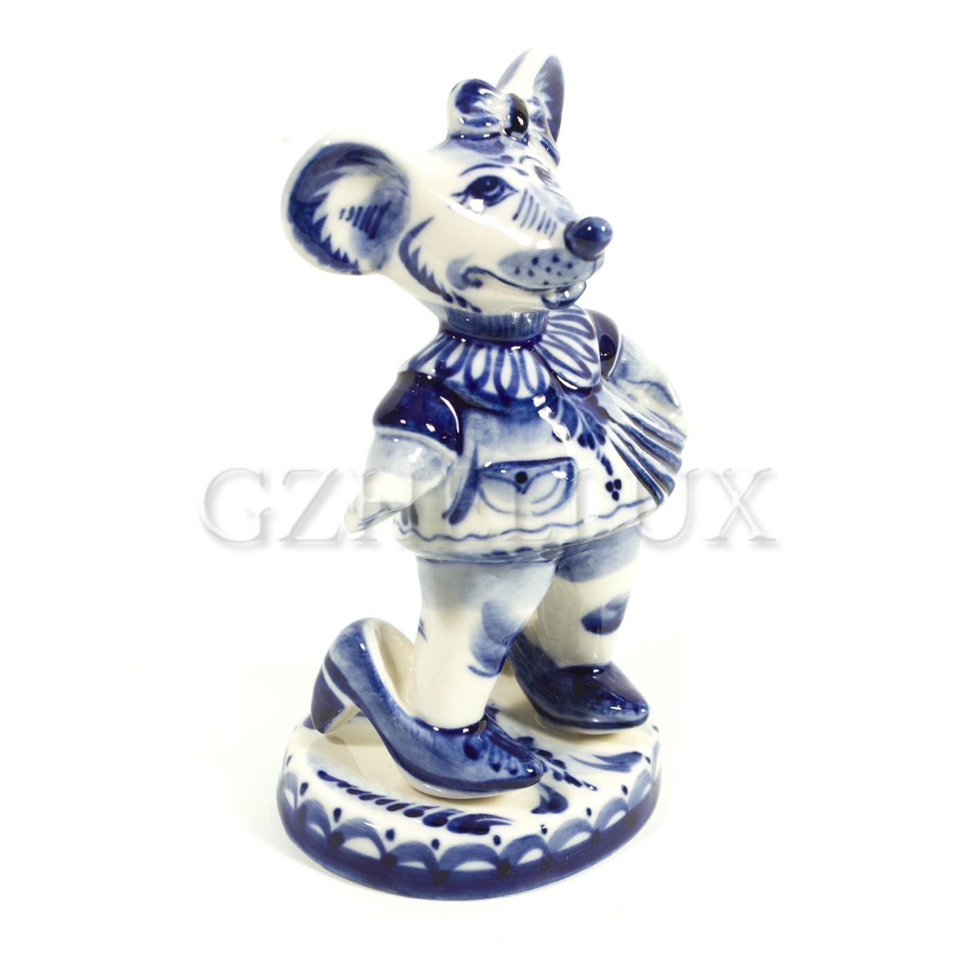 Скульптура «Мышь в туфельках»