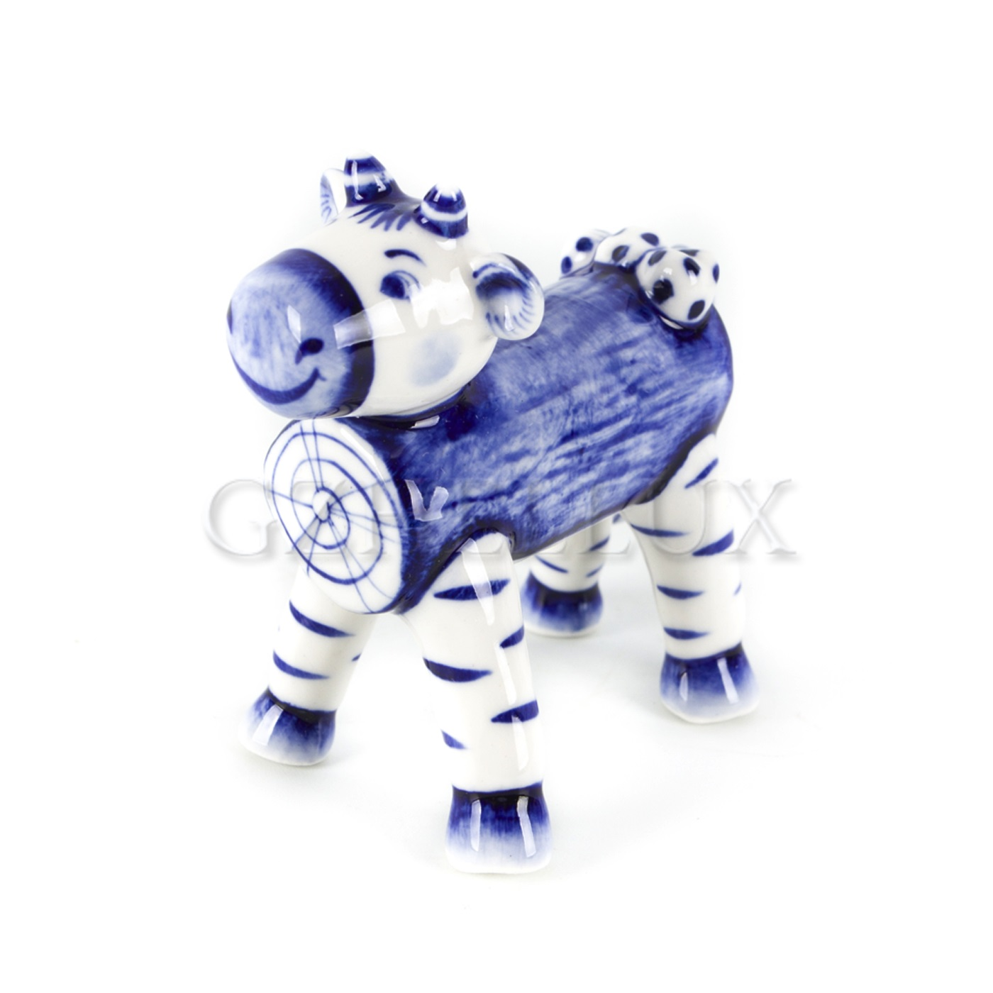 Скульптура «Бычок-смоляной бочок» №2