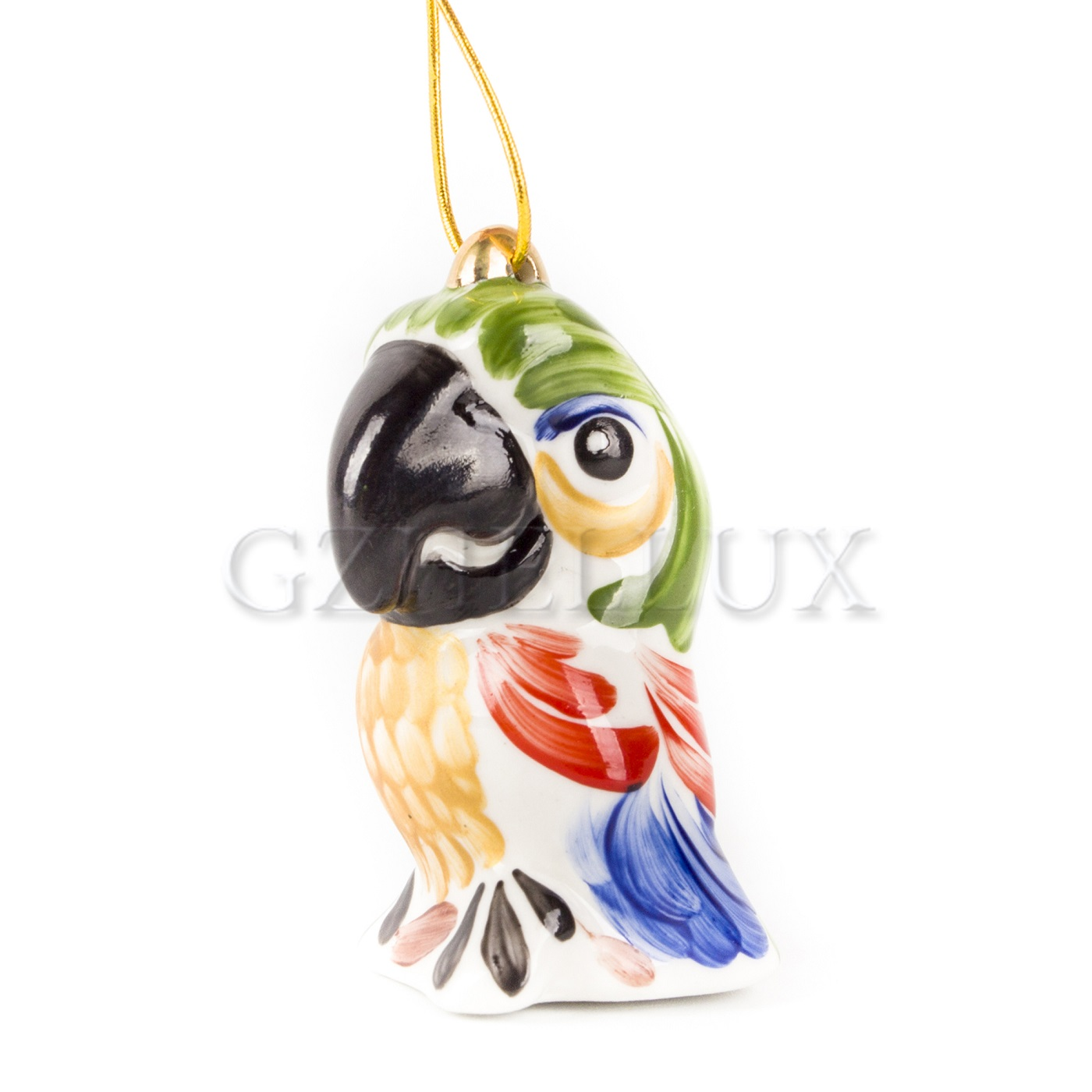 Ёлочная Игрушка «Попугай Кеша» в красках