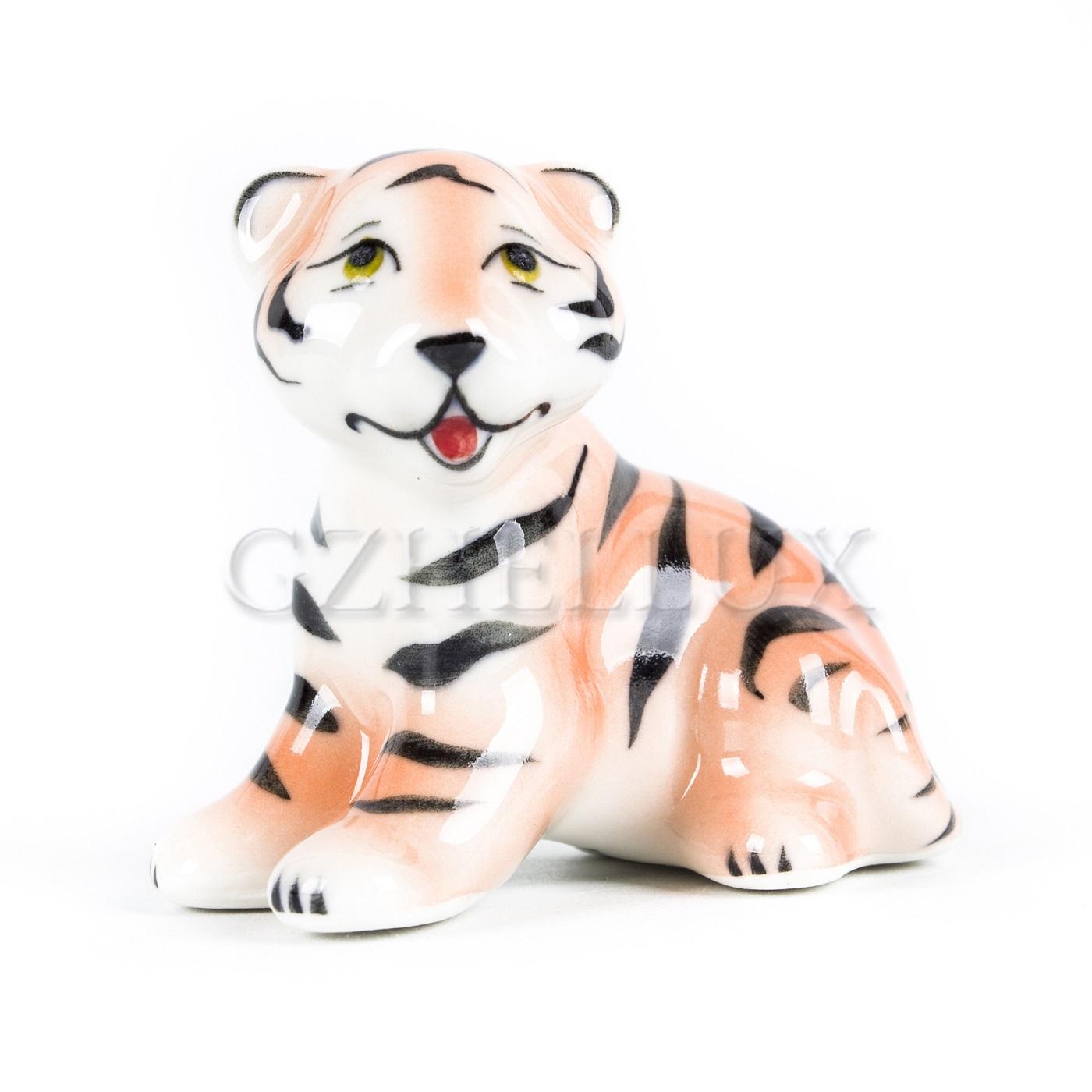 Скульптура «Тигр Макс» в красках
